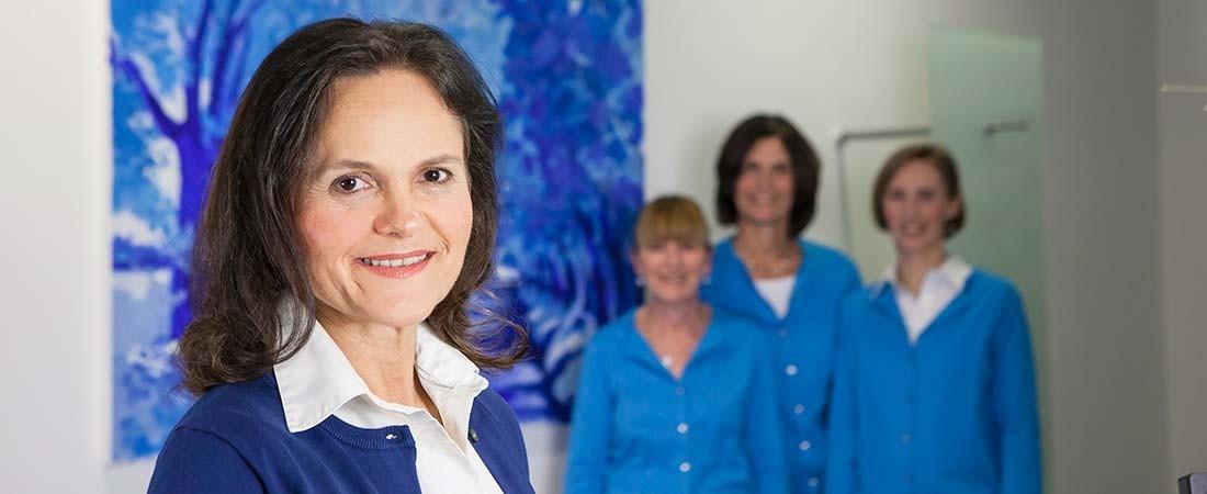 Praxisteam Augenärztin Dr. Lorenz-Sebastian