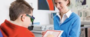 Sehschule Augenärztin Dr. Lorenz-Sebastian